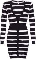 Yumi Ribbed Stripe Cardigan