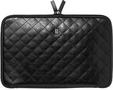 Norton Co. ORDNING&REDA Black Quilted Leather Laptop Case - Small