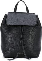 Mansur Gavriel mini flap backpack - women - Leather - One Size