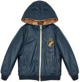 Dolce & Gabbana Fur Trim Bomber Jacket