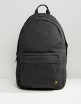Farah Canvas Backpack Black