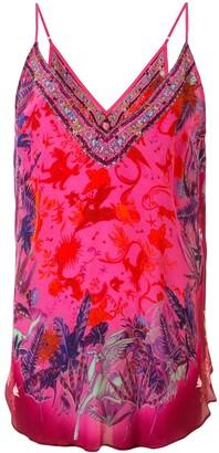 Camilla Tropic of Neon camisole top