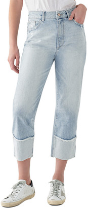DL1961 Jerry Cropped High-Rise Vintage Straight Leg