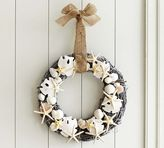 Pottery Barn Shell Wreath