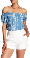 Plenty by Tracy Reese Print Off-the-Shoulder Blouse