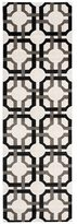 Waverly Artisanal Delight Groovy Grille Licorice Area Rug by Nourison (2'6 x 8')