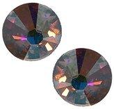 AJ Fashion Jewellery Vivid Plated Aurora Borealis Crystal Post Earrings