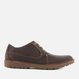 Clarks Men's Vargo Plain Leather Derby Shoes