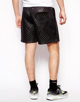 Blood Brother Quilted Shorts