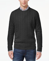 Club Room Men's Cable-Knit Cashmere Sweater, Only at Macy's