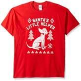 The Simpsons Men's Santa's Little Helper Ugly Christmas T-Shirt