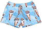MC2 Saint Barth Ice Cream Cone Printed Nylon Swim Shorts