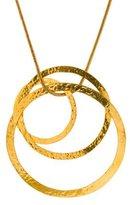 Herve Van Der Straeten Hammered Discs Pendant Necklace