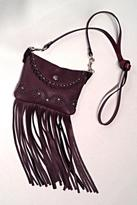 Patricia Wolf Leather Fringed Bag