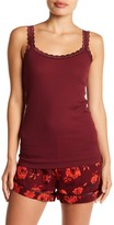 Joe Fresh Ribbed Lace Cami