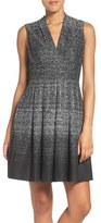 Vince Camuto Jersey Knit Fit & Flare Dress (Regular & Petite)