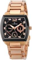 Le Château Men's 5420M_BLK Sports Dinamica Collection Rose-Gold Watch