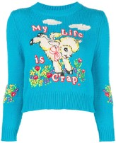 Marc Jacobs x Magda Archer intarsia sweater
