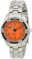 Momentum Women's 1M-DV01O0 M1 Orange Dial Stainless-Steel Bracelet Watch