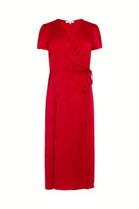 Gerard Darel Crepe Wrap Dress