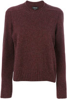 Isabel Marant crew neck jumper - women - Polyamide/Camel Hair/Wool - 36
