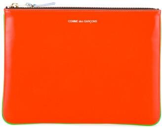 Comme des Garcons Super Fluo classic wallet