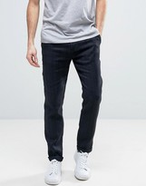 Sisley Pants In Relaxed Fit With Herringbone Stripe