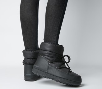 Moon Boot Low Nylon Boots Black