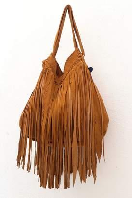 Areias Leather Camel Suede Bag