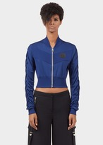 Versace Double Strip Cropped Jacket