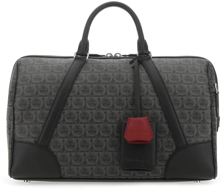 Salvatore Ferragamo Gancini Weekender Travel Bag