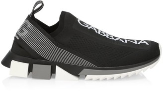 Dolce & Gabbana Sorrento Knit Sneakers