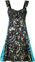Peter Pilotto abstract print dress - women - Cotton/Polyester - 8