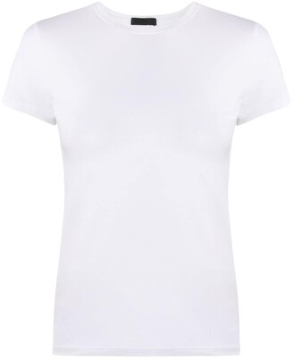 ATM Anthony Thomas Melillo short-sleeve fitted T-shirt