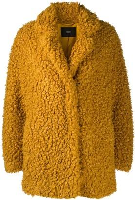 Steffen Schraut Oversized Faux Shearling Jacket