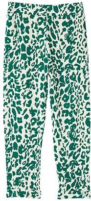 Molo Alysie (Little Kids/Big Kids) (Green Leopard) Girl's Casual Pants