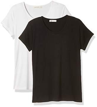 Selene Women's 2-Pieces Lightweight T-Shirt Set Soft Sleepwear Pajamas XXL