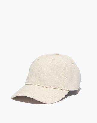 Madewell Cotton-Linen Baseball Cap