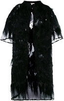 Faith Connexion sheer embellished coat - women - Silk/Polyamide/Polyester - 36