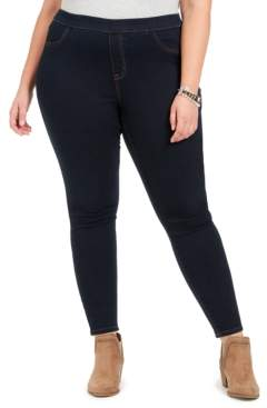 Style&Co. Style & Co Plus Size Tummy-Control Pull-On Jeggings, Created For Macy's