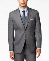 Alfani Traveler Men's Grey Solid Slim-Fit Suit Jacket, Only at Macy's