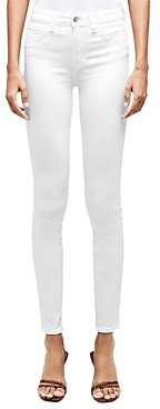 L'Agence Marguerite Skinny Jeans in Blanc
