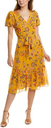 Donna Morgan Tiered Midi Dress