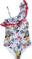 MonnaLisa TEEN floral print swimsuit
