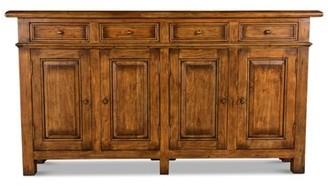 "Sarreid Ltd. 67"" Wide 4 Drawer Acacia Wood Sideboard"