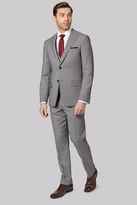Ted Baker Gold Tailored Fit Neutral Birdseye Suit