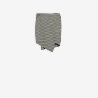 Balenciaga Twisted Mini Skirt