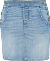 Marc by Marc Jacobs Faded denim mini skirt