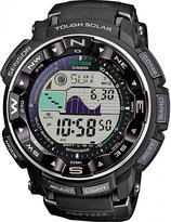 Casio Men's Pathfinder PRW2500-1A Black Silicone Quartz Watch with Digital Dial