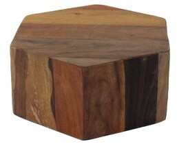 Foundry Select Dorffman Solid Wood Block End Table